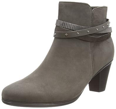 Gabor Shoes Damen Basic Stiefel, Schwarz (10 Schwarz/Anthrazit), 35 EU