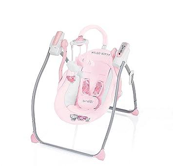 Dondolo Hello Kitty.Miou Hello Kitty Altalena Con Sedile A Dondolo Amazon Fr