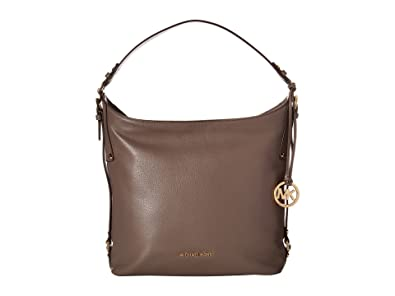 a94bee9c1c6e8b Michael Kors Bedford Belted Large Shoulder Bag in Cinder: Handbags ...