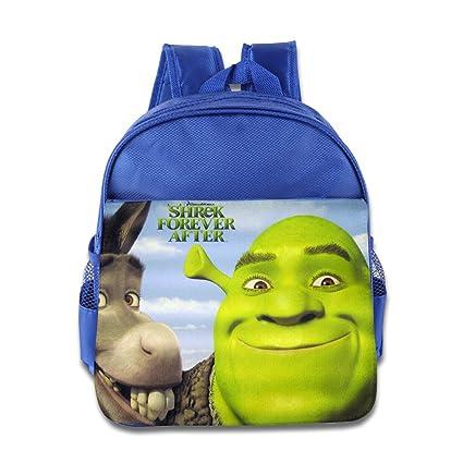 af130c1d04a1 XJBD Custom Personalized Shrek Children School Bag Backpack For 1-6 Years  Old RoyalBlue