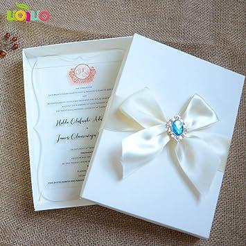 Tarjetas y invitaciones - Acrílico boda invitación, personalizado ...