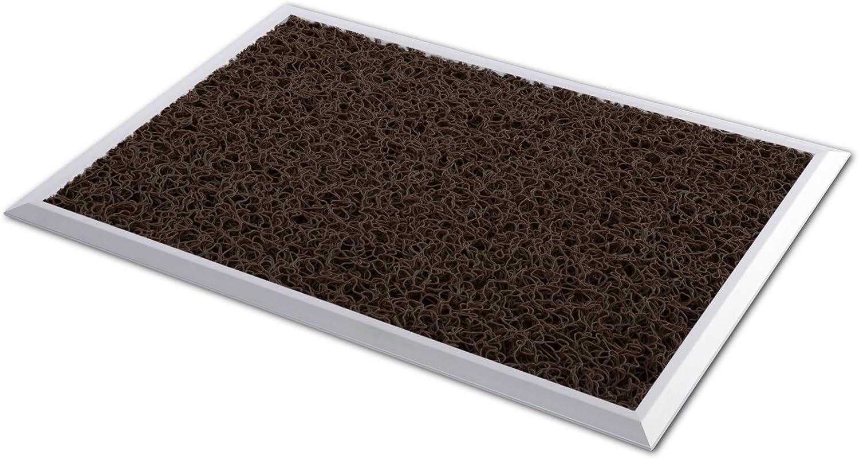 Grau Hygienematte Z-Mat f/ür Nassbereiche und Arbeitspl/ätze 120x100 cm stark rutschhemmend viele Gr/ö/ßen