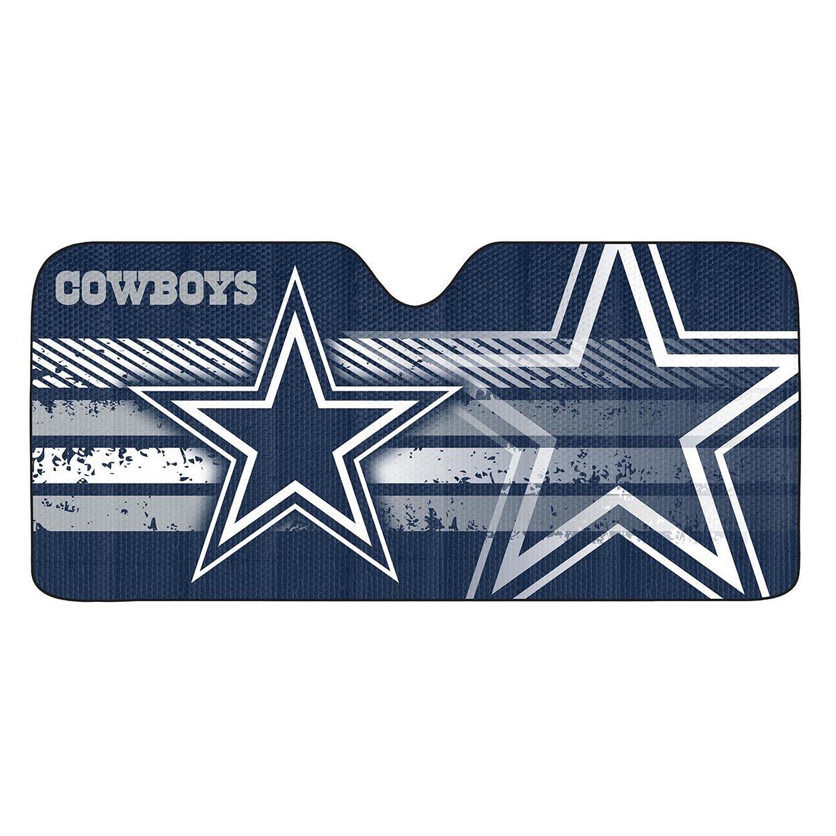 Amazon com nfl dallas cowboys universal auto shade large blue sports outdoors