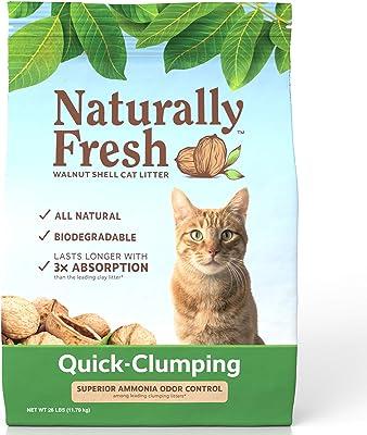Naturally Fresh Walnut-Based Cat Litter