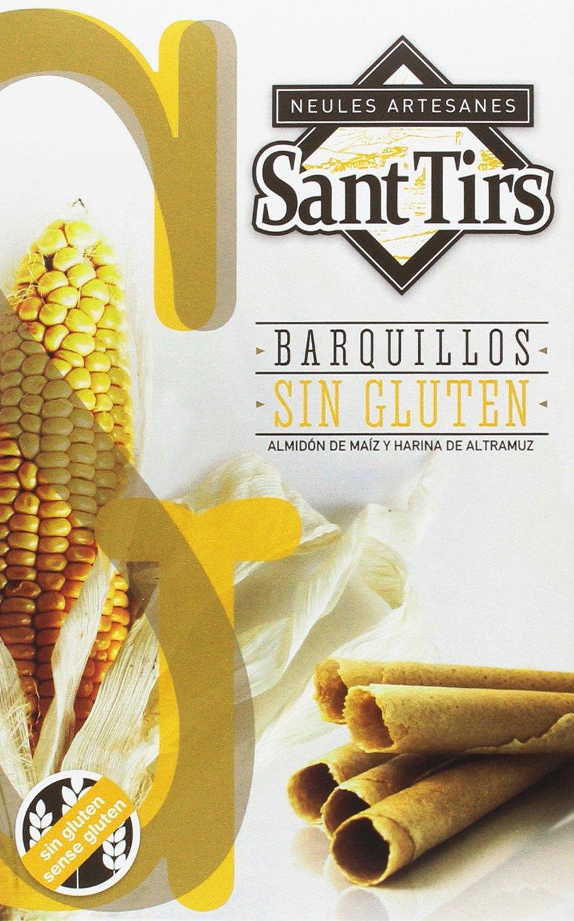 Sant Tirs Barquillos sin Gluten - 5 estuches: Amazon.es ...