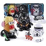 Star Wars Mr Potato Head Toy - Luke Frywalker - Darth Tater and Spudtrooper Armour Playset