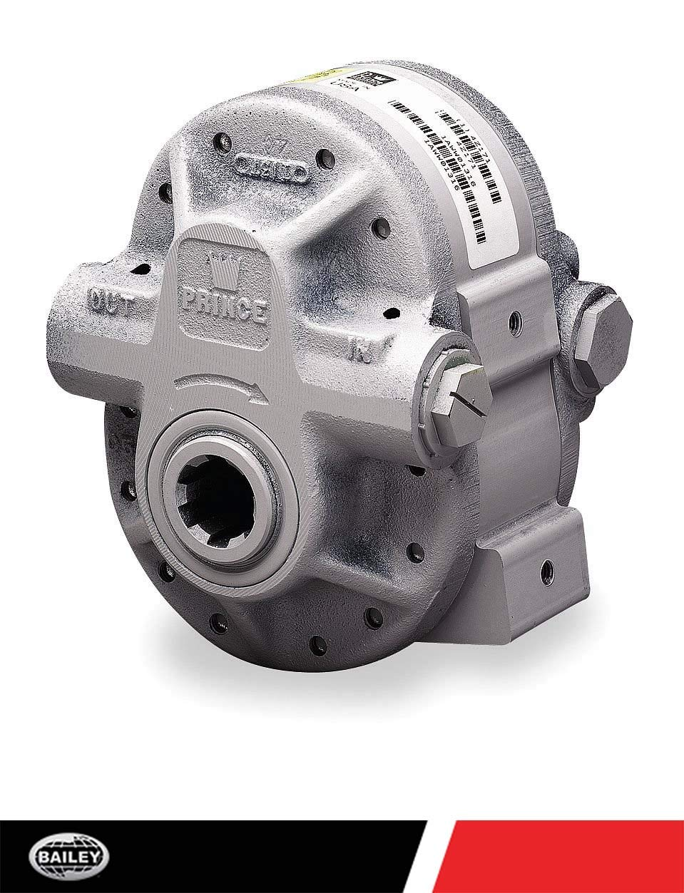 6 tooth Drive Shaft SAE 12 Outlet Port Aluminum Center Housing: 5.7 CID 540 RPM 1 3//8/'/' dia SAE 16 Inlet Ports 251563 11.4 Prince PTO Gear Pumps 2250 PSI 18 HP