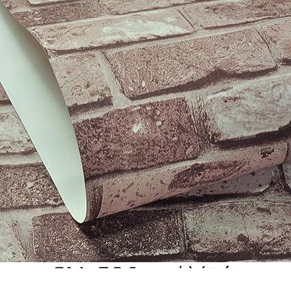 1bca76d7842 DXG FX retro3D solid brick pattern wallpaper antique red brick wallpaper Chinese  clothing shops restaurants and bars a brick brick wallpaper-A - - Amazon.  ...