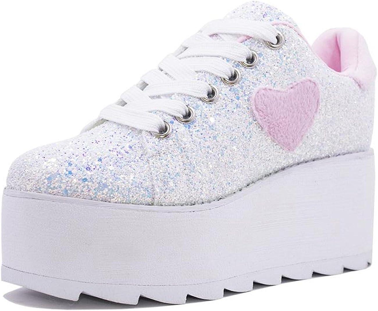 YRU 'Lala Heart', Pink, Glitter