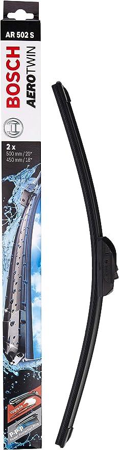Escobilla limpiaparabrisas Bosch Aerotwin AR502S, Longitud: 500mm/450mm – 1 juego para el parabrisas (frontal): Amazon.es: Coche y moto