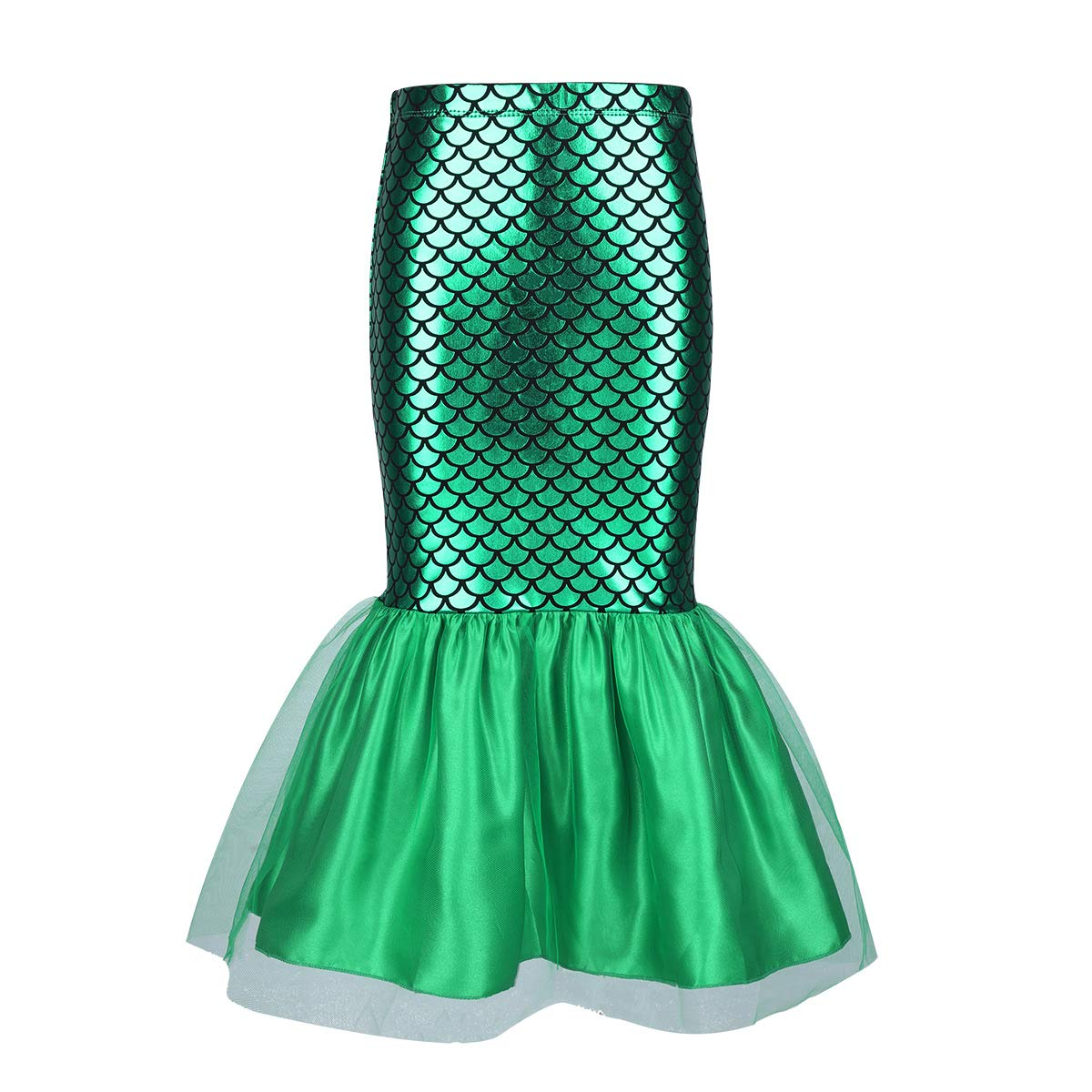 45c88a89394227 Amazon.com: CHICTRY Toddler Girls Little Mermaid Costume Halloween Sequins  Tutu Skirt Tails Dress up: Clothing