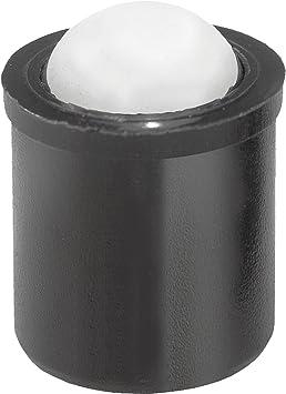 Typ:Kreuzschlitzschraube Ausf/ührung:M3-12 mm 10 x Sechskantschrauben Kreuzschlitzschrauben Schraub Muttern Kunststoff weiss