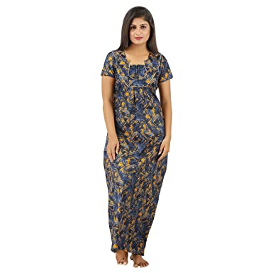 673d69c47c Sowbarnigha Nighties Women s Nighty XXL Multicolor  Amazon.in ...