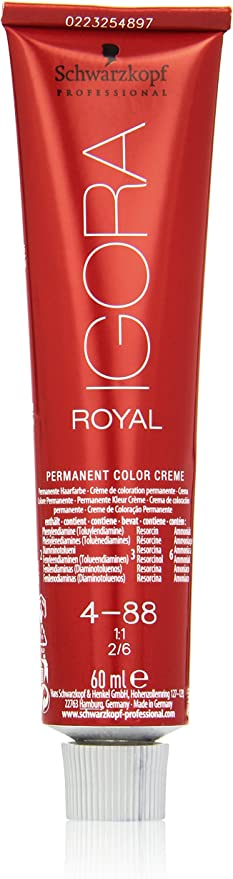 Schwarzkopf Professional Igora Royal 4-88 Tinte - 60 ml