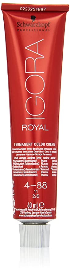 fc1f90f8e8 Schwarzkopf Number 4-88 Igora Royal Dye: Amazon.co.uk: Beauty