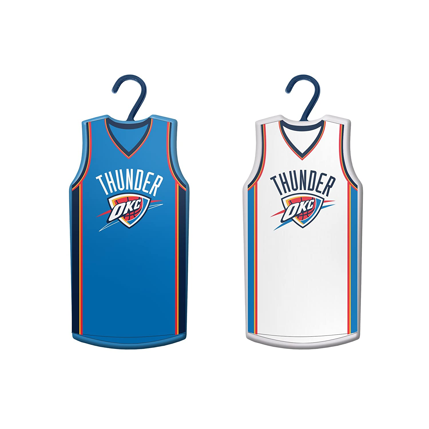 Amazon.com   Boelter Brands NBA Oklahoma City Thunder Home   Away Jersey  Ornament ce583538e