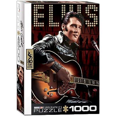 EuroGraphics Elvis Comeback Special (1000 Piece) Puzzle: Toys & Games