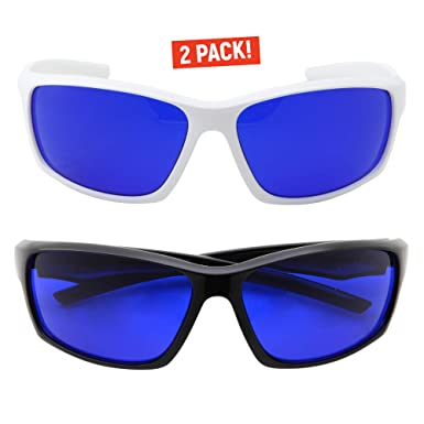cb17e7146a0aa Amazon.com  grinderPUNCH Tinted Golf Ball Finder Glasses