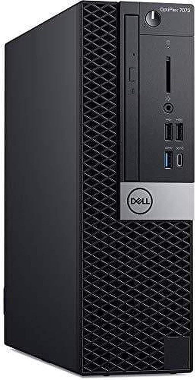 Dell OptiPlex 7070 Small Form Factor | Intel 9th Gen i5-9500 (6 Core, 3GHz) | 16GB DDR4 | 256GB Solid State Drive | Win 10 Pro (Renewed)