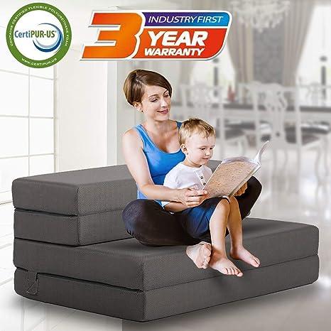 Funda de colchón portátil para sofá Cama Plegable Ligera y ...