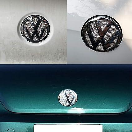 YaaGoo VW Outside Emblem Crystal Sticker for VW Beetles 2013-2018 Rear