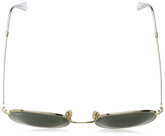 Amazon.com: Gafas de sol redondas de metal Ray-Ban: Clothing