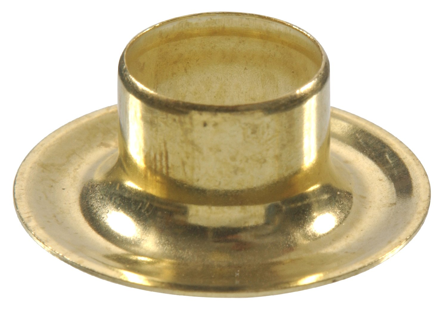 The Hillman Group 58278 Brass Grommet & Washer, 1/2-Inch, 10-Pack