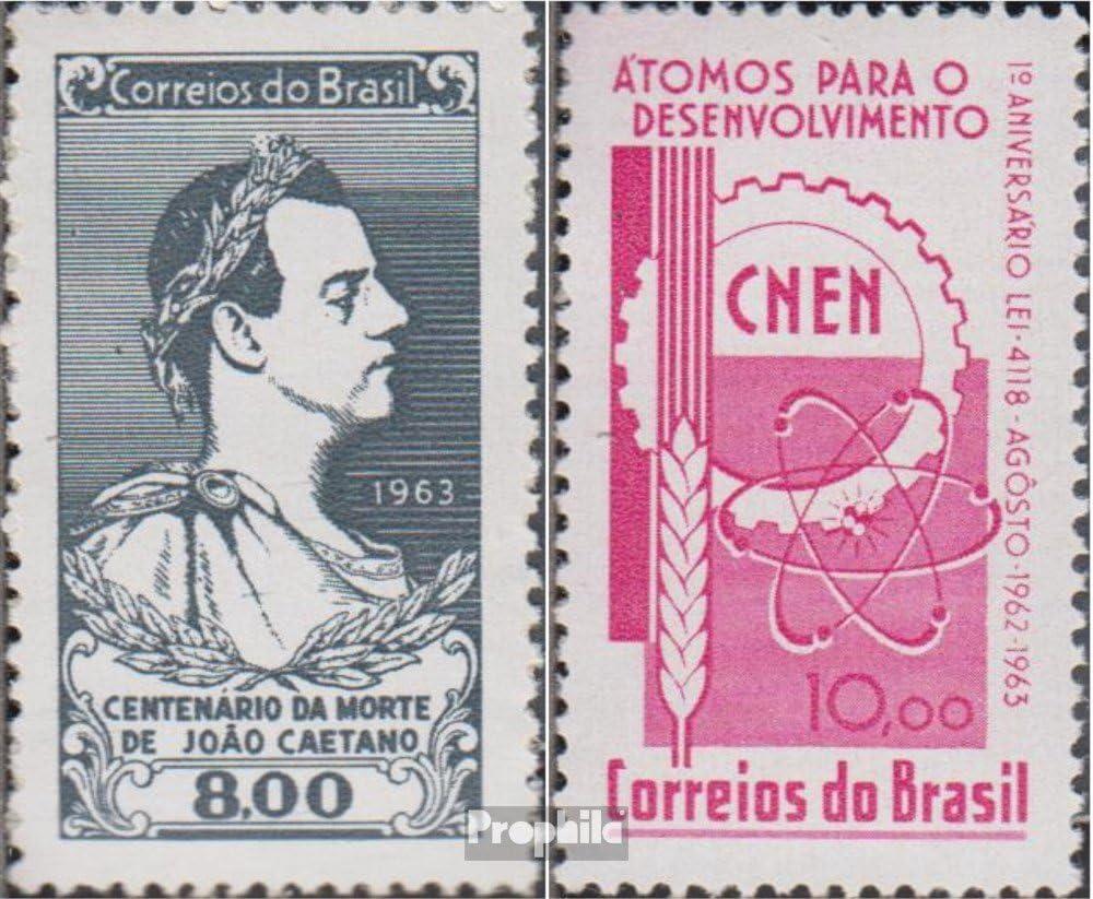 Prophila Collection Brasil Michel.-No..: 1040,1041 (Completa.edición.) 1963 Joao Caetano, Nuclear (Sellos para los coleccionistas): Amazon.es: Juguetes y juegos