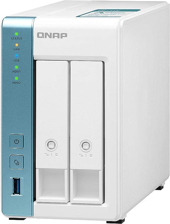Qnap Ts 231k 8tb 2 Bay Desktop Nas Lösung Installiert Computer Zubehör