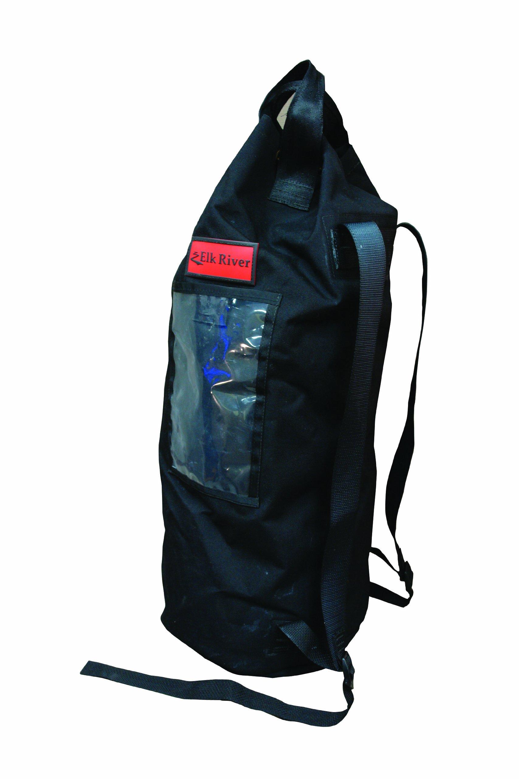 Elk River 84310 EZE-Man Nylon Rope Bag with Drawstring Closure, 12'' Width x 27'' Depth