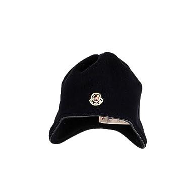 sale retailer 6cae2 87e26 Moncler Fleece-Mütze - Navy, Größe:S: Amazon.de: Bekleidung