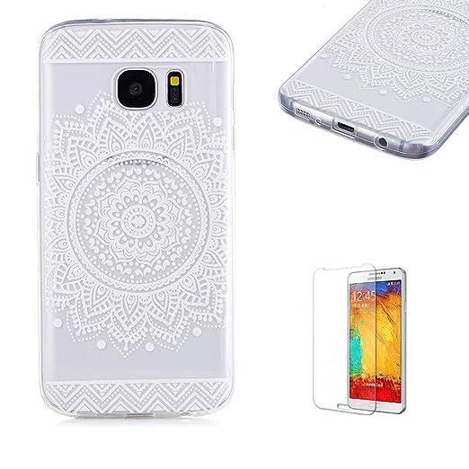 5 opinioni per Cover Per Samsung Galaxy S7,Funyye Trasparente Silicone Morbido Sottile Chiaro