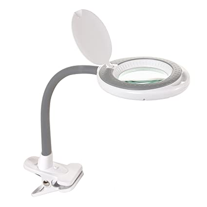 amazon com newhouse lighting led magnifying table top clamp lamp
