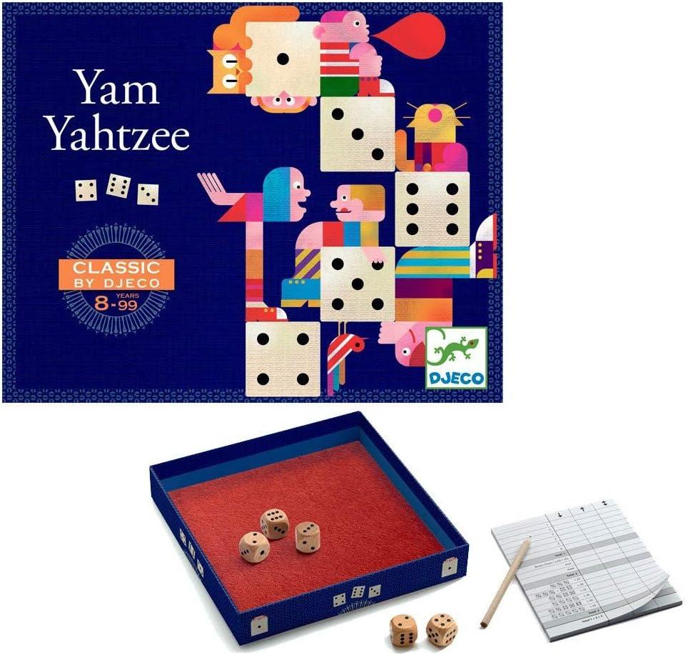 DJECO- Juegos familiaresJuegos tradicionalesDJECOJuegos clásico Generala, Multicolor (15): Amazon.es: Juguetes y juegos