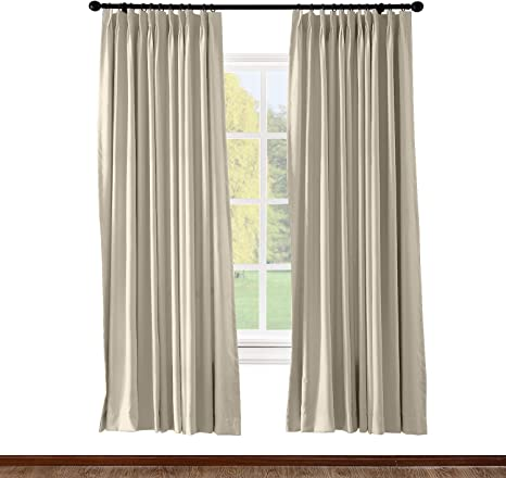 BLOCKOUT Pencil Pleat TAPE TOP Ready Made Thermal LINED Curtains METALLIC Print