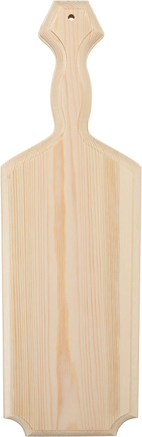 Walnut Hollow 41649 Pine Wood Paddle for Arts Crafts and Home Decor
