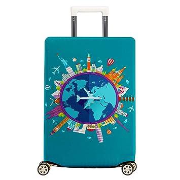 Amazon.com: Funda protectora para maleta de viaje de licra ...