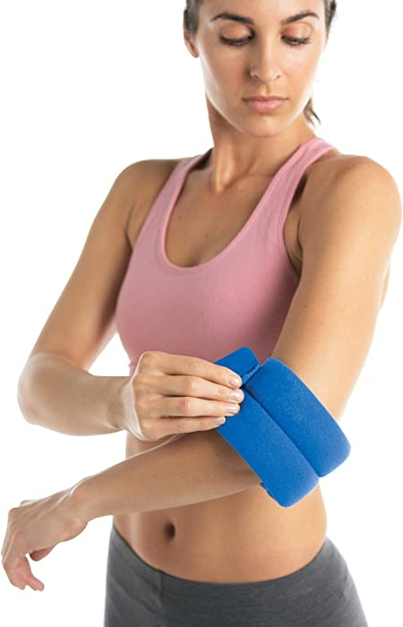 Bed Buddy Joint Wrap - Hot & Cold Therapy for Muscle Pain Relief and Joint Pain Relief - Small Heating Pad for Knee, Wrist, Elbow, Ankle, Arm or Leg, 2 Count