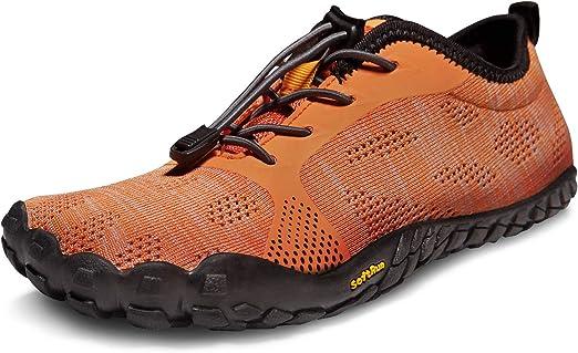 Tesla BK30/BK40 Zapatillas minimalistas para correr, para hombre, Men 8 D(M), TF-BK40-ORG: Amazon.es: Deportes y aire libre