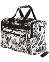 Off White French Toile Duffle Bag 22 Inch