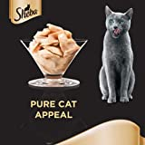 Sheba Flaked Tuna Topped with Salmon Cat Food, 5 plus 1 Pack (85g x 6 cans)