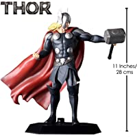 """Anokhe Collections PVC, ABS and Resin Marvel 1:6 Scale """"Thor: God of Thunder Tall Collectible Statue (Multicolour, 28 cm)"""
