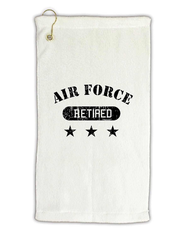 TooLoud Retired Air Force Micro Terry Grometゴルフタオル11