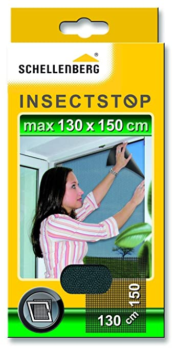 70 opinioni per Schellenberg 50715 Zanzariera protezione da insetti per finestre
