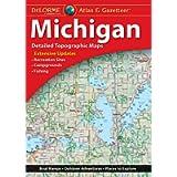 DeLorme Atlas & Gazetteer: Michigan (Delorme Michigan Atlas and Gazeteer)