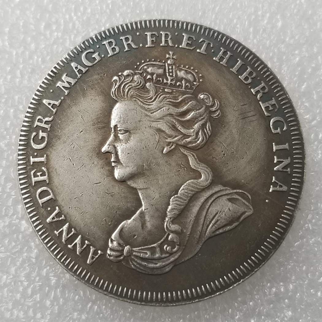 XDLiu United Kingdom Old Coins - British Old Silver Coin-Old UK Coin Collecting - Queen Victoria Coin - Uncirculated condition