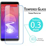 V CAN Premium 3D Anti-Fingerprint 0.33 mm HD+ Full Coverage Tempered Glass Screen Protector for Realme 1 (Transparent)