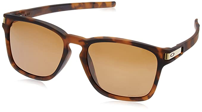 bd18b7dfc9485 ... sale oakley mens latch sq a polarized iridium rectangular sunglasses  matte brown tortoise 71771 89e95