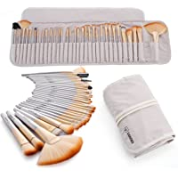 Vander 32Pcs Makeup brushes Set Fashion Champagne Gold Beauty Cosmetic Eyeshadow Makeup Brushes Set Kit(Champagne)