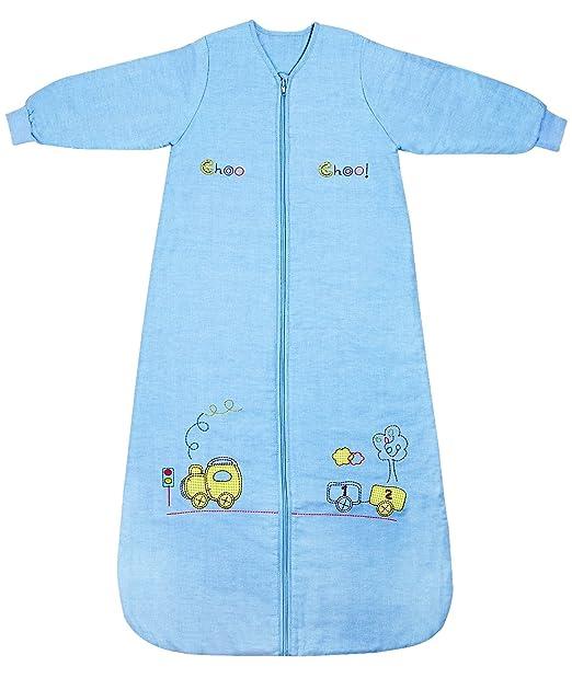 Slumbersafe Kid Sleeping Bag Long Sleeves 2.5 Tog - Choo Choo, 6-10 Years/XXL